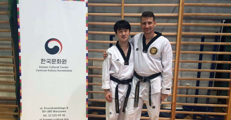 Seminarium z GM Kang